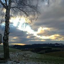 Blick Richtung Münzbach - aus Pichlerhöhe - 11.01.2013