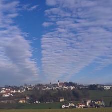 Blick auf Bad Kreuzen - 30.12.2012