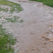 Überflutungen Riedersdorf